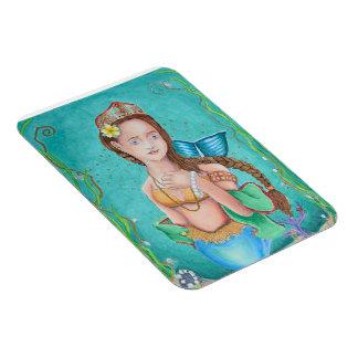 Mermaid's Garden Magnet