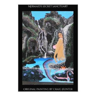 Mermaid's lagoon photo art