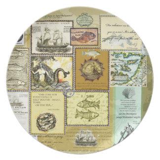 Mermaids - Melamine Plate (2)