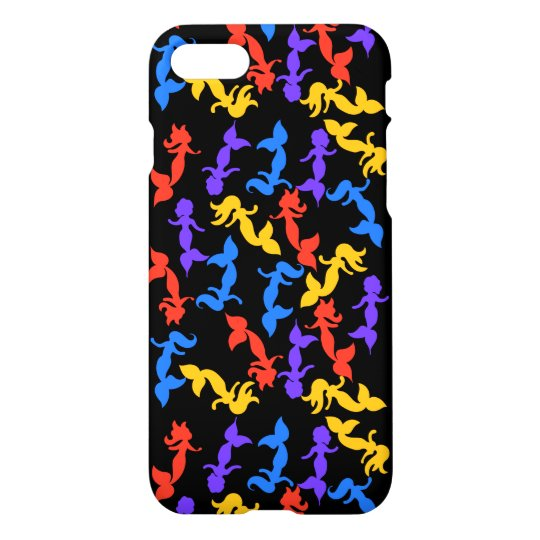 Mermaids pattern iPhone 7 case