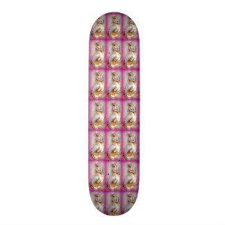 mermaids pink skateboard