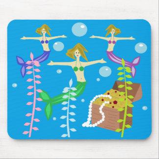 Mermaids' Treasure Mouse Pad