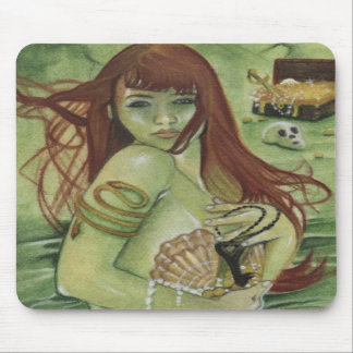 Mermaid's Treasure Mousepad