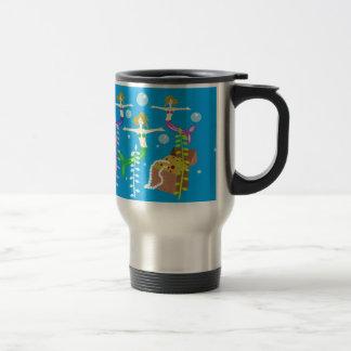 Mermaids' Treasure Travel Mug