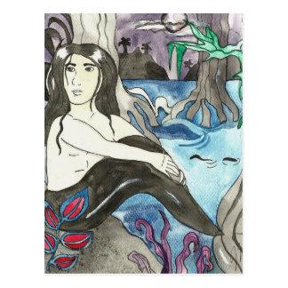 Merman Aaron Postcard