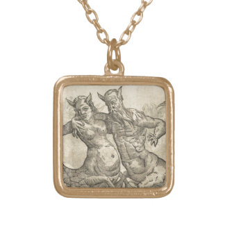 Mermen Gold Plated Necklace