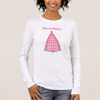 Merriest Wishes! Long Sleeve T-Shirt