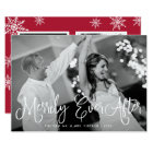 Merrily Ever After Holiday Card w/ Back Message