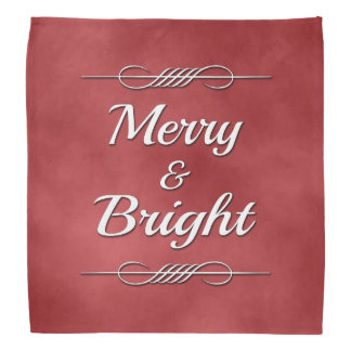Merry and Bright Bandana