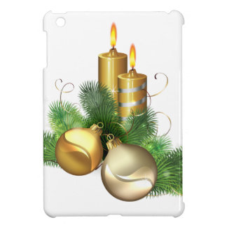 Merry and Bright Candles Case For The iPad Mini