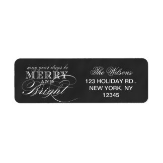 MERRY AND BRIGHT | CHALKBOARD HOLIDAY