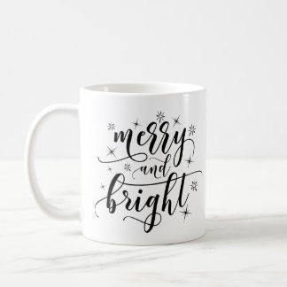 Merry and Bright Christmas Classic Mug