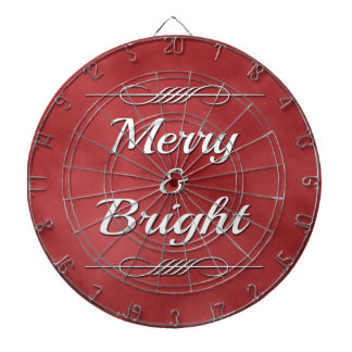 Merry and Bright Dartboard