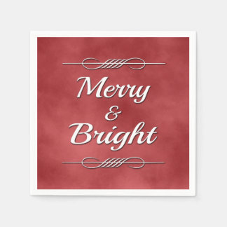 Merry and Bright Disposable Napkins