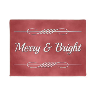 Merry and Bright Doormat