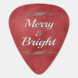 Merry and Bright Guitar Pick