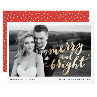 Merry and Bright | Holiday Photo Card