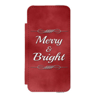 Merry and Bright Incipio Watson™ iPhone 5 Wallet Case