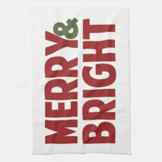 Merry and Bright Kitchen Towel