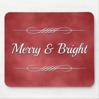 Merry and Bright Mouse Pad
