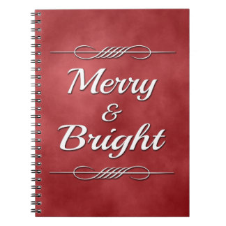 Merry and Bright Notebook