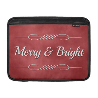 Merry and Bright Sleeve For MacBook Air