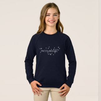 Merry and Bright Stars Holiday Sweater