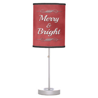 Merry and Bright Table Lamp