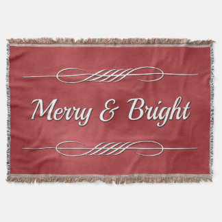 Merry and Bright Throw Blanket
