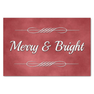 Merry and Bright Tissue Paper
