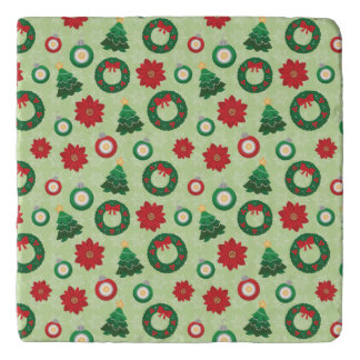 Merry and Bright trivet