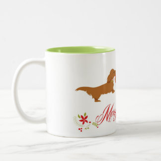 Merry and Bright Two-Tone Coffee Mug