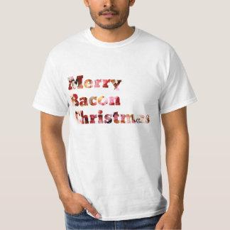 Merry Bacon Christmas T-Shirt
