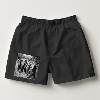 Merry Band of Musicians in Old Japan Vintage Music Boxers