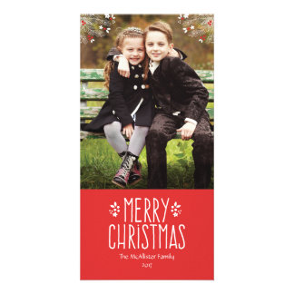 Merry Berry Christmas Photo Card