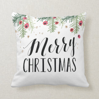 Merry Berry Collection Throw Pillow