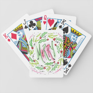 Merry Bicycle Playing Cards