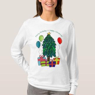 Merry Birthday, Happy Christmas! T-Shirt