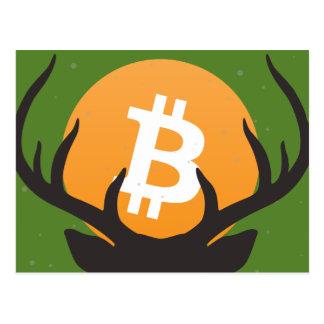 Merry Bitmas! A Bitcoin Christmas Postcard! Postcard