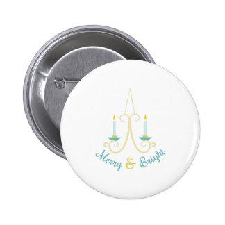 Merry & Bright 2 Inch Round Button