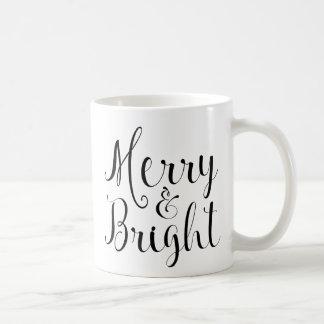 Merry & Bright Christmas mug