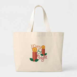 Merry & Bright Large Tote Bag