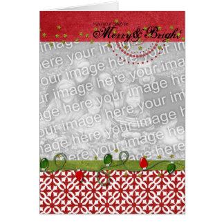 Merry & Bright Photo Frame Card 2