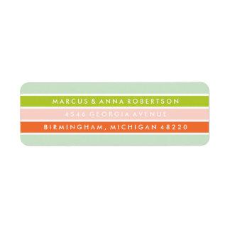 Merry + Bright Return Address Label