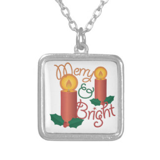 Merry & Bright Silver Plated Necklace