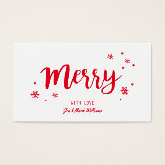Merry Business Card