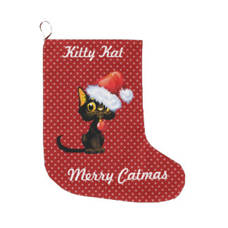 Merry Catmas Christmas Stocking