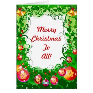 Merry Celebration Card