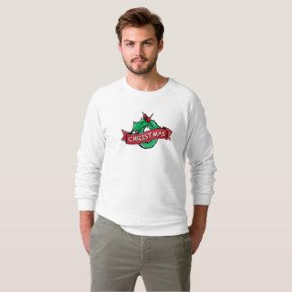 Merry charismas men's American Raglan Sweatshirt