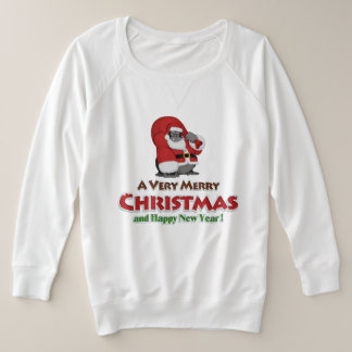 Merry charismas Women's French Terry Sweatshirt